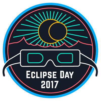 Eclipse Day 2017 Badge